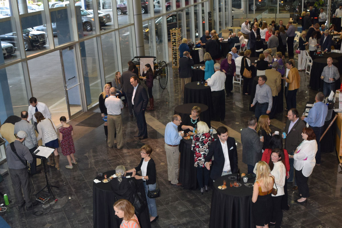 Guests gather at Mercedes-Benz of Cincinnati - Ignite the Night 2016