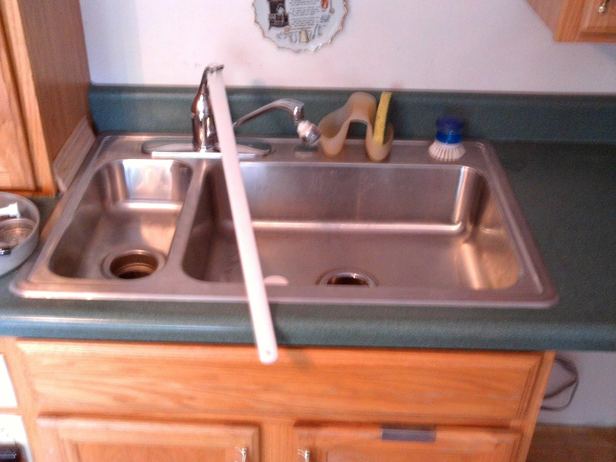Joyce's faucet adapter